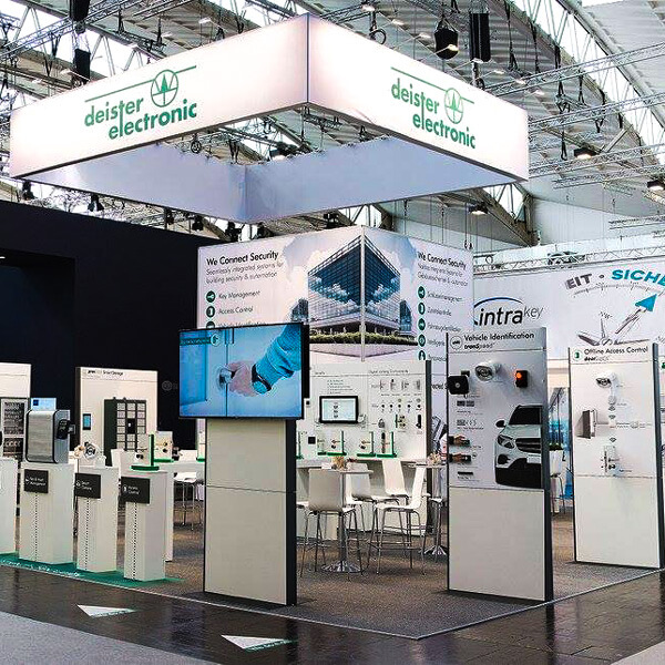 Exhibition stand at the Security in Essen