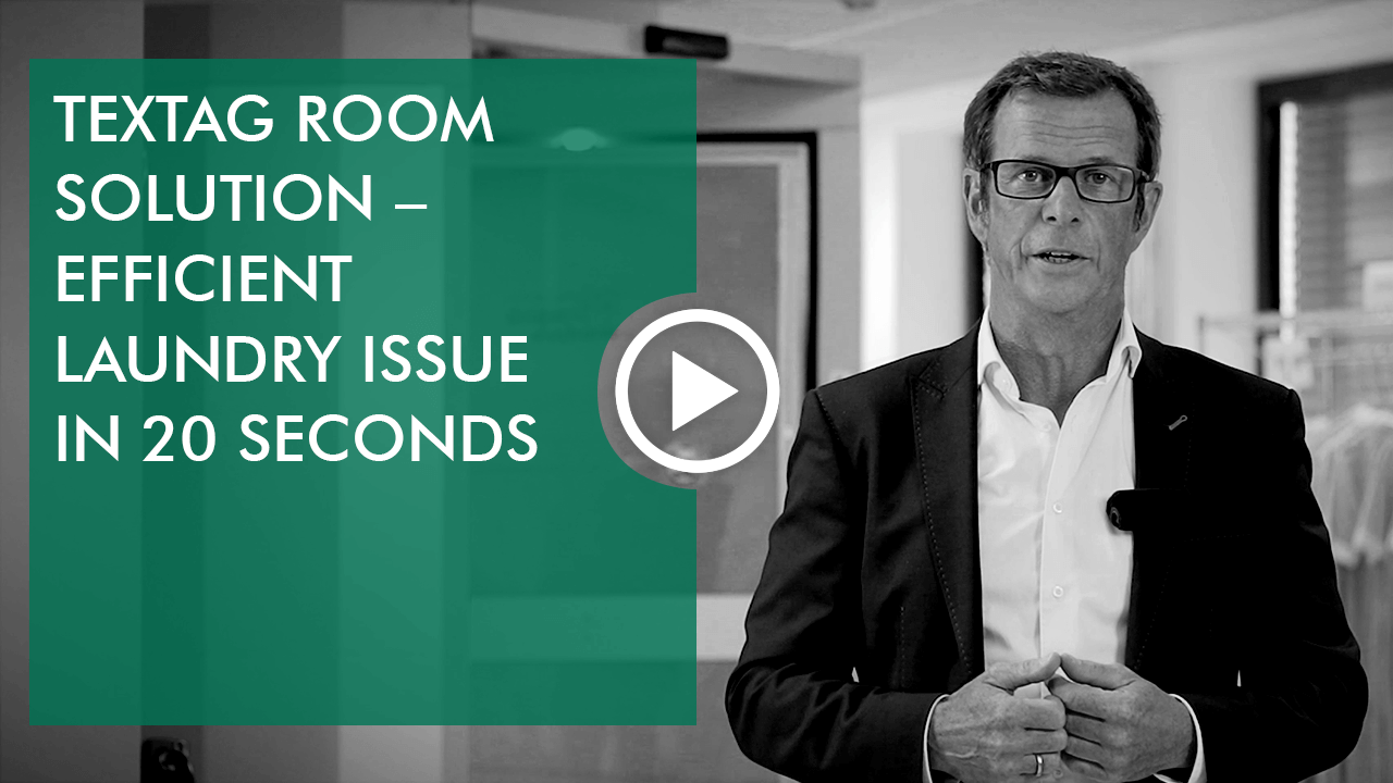 Video: teXtag room solution: efficient laundry issue in 20 to 30 seconds