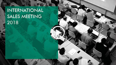 Video: International Sales Meeting 2018