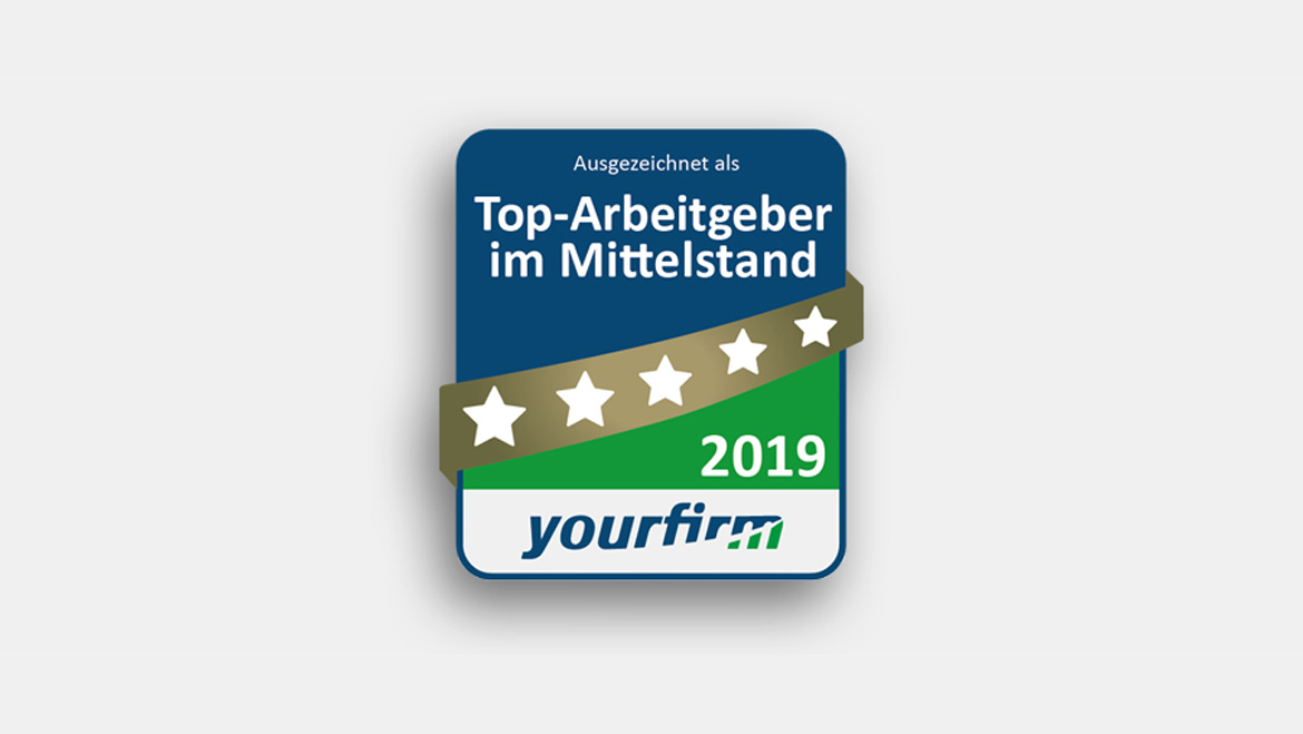 deister electronic awarded as Top Employer in Medium-Sized Businesses 2019