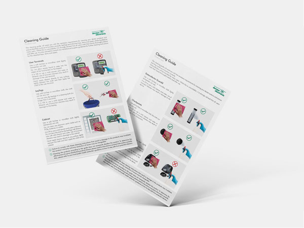 cleaning guide flyer download