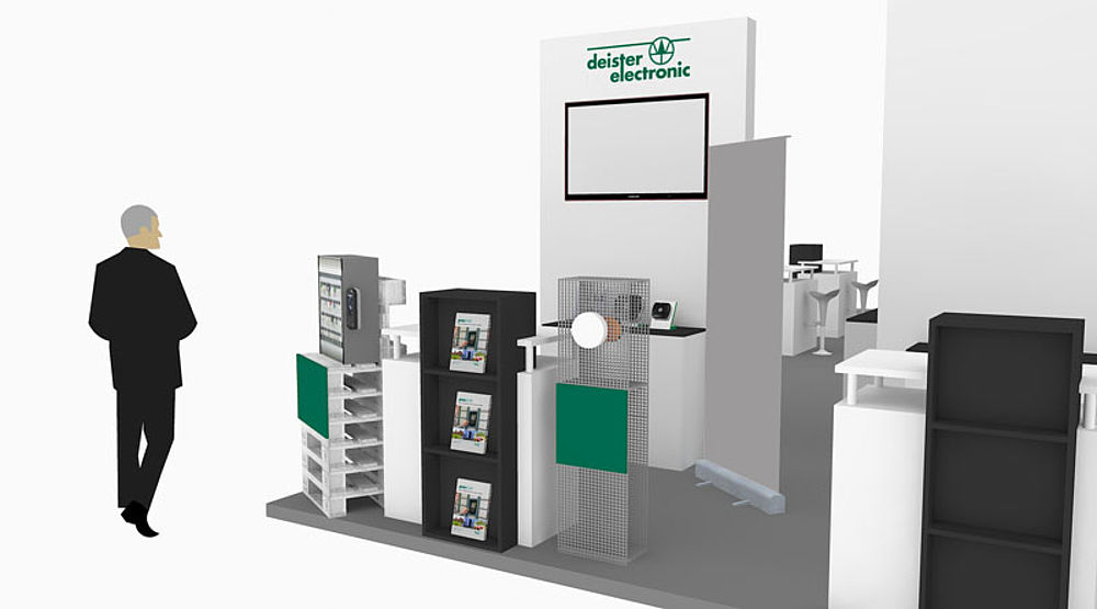 The AiM Joint booth LogiMAT