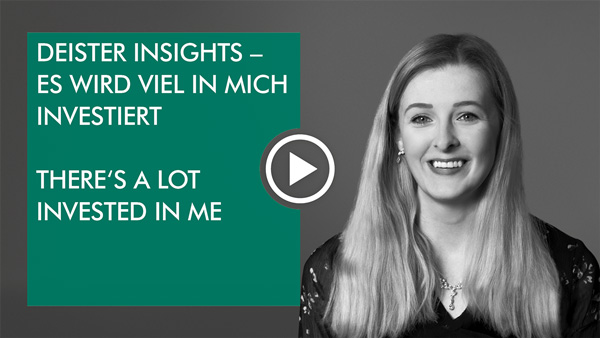 "Video: deister insights – Apprentice: ""There´s a lot invested in me"""