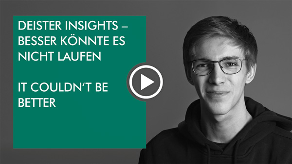 "Video: deister insights – Intern: ""It couldn´t be better"""